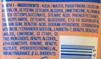Crème mains protectrice antidéssèchement - Ingredients