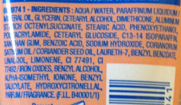 Crème mains protectrice antidéssèchement - Ingredients - fr