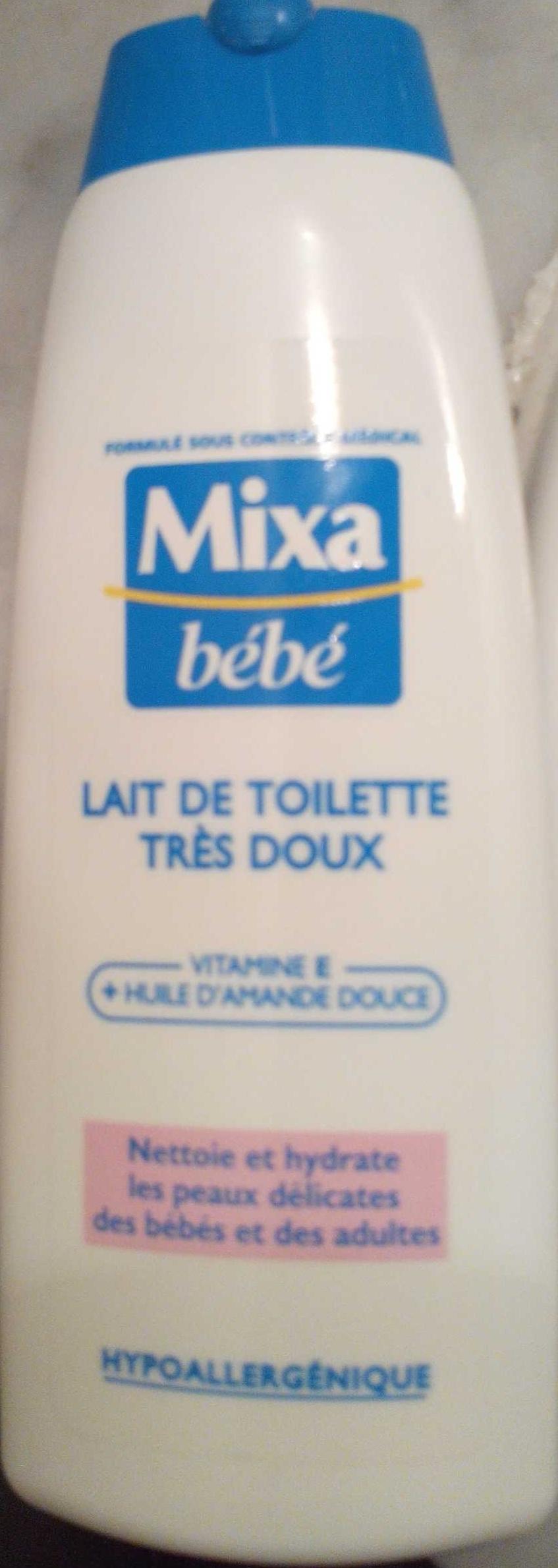 Lait de toilette très doux Vitamine E Huile d'amande douce - Product - fr