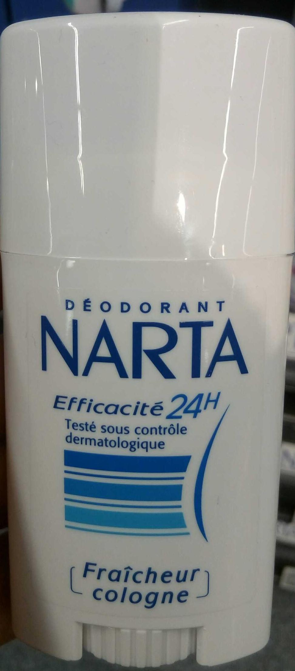Déodorant Efficacité 24h Fraîcheur Cologne - Product - fr
