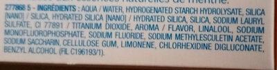 Fluoryl - Ingredients - fr