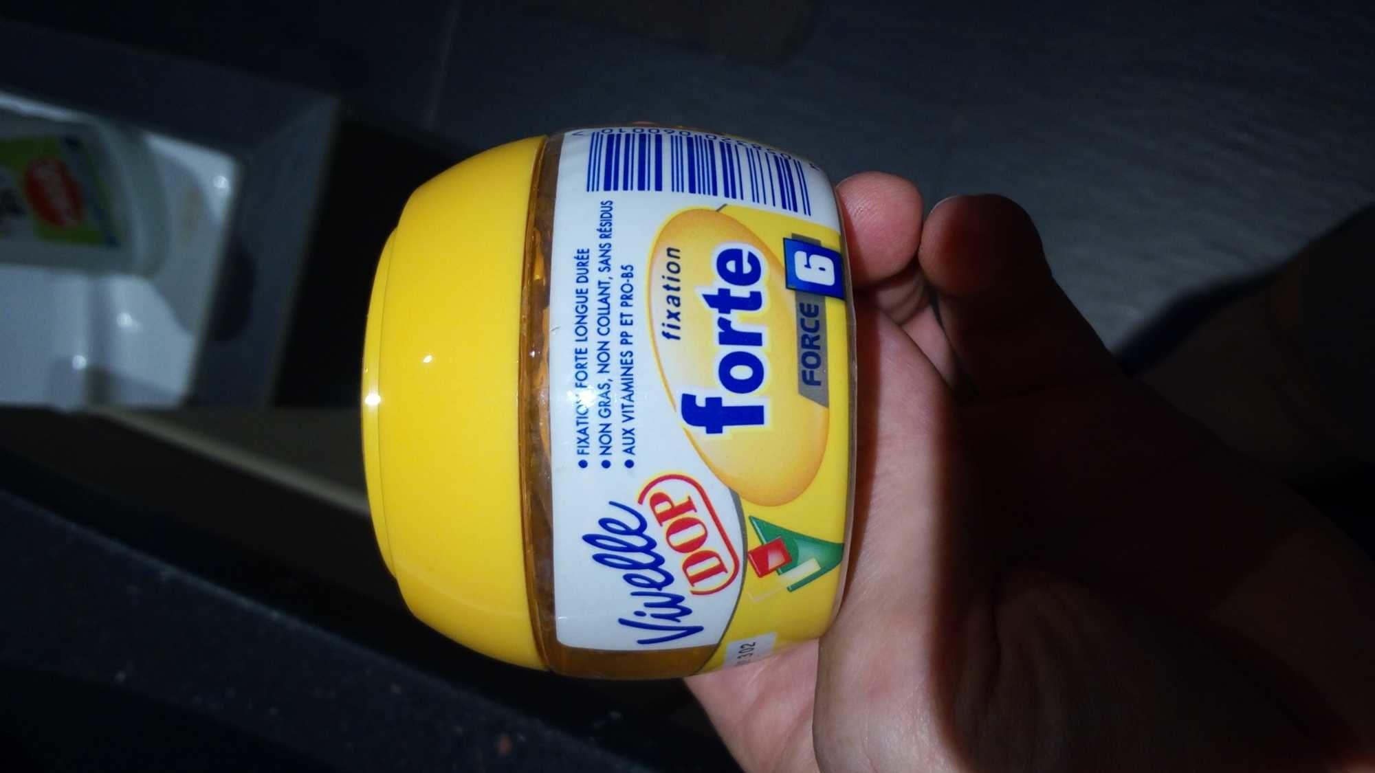 Vivelle DOP Gel coiffant aux vitamines fixation forte - Produit - fr