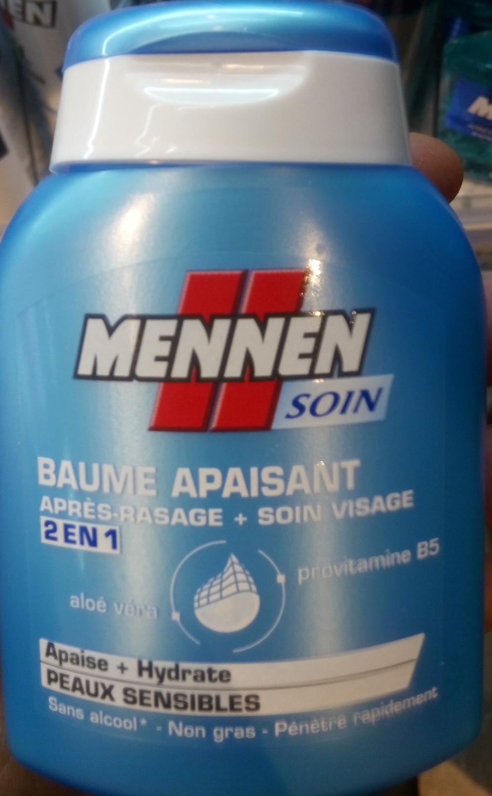 Baume apaisant, Après rasage + Soin visage, 2 en 1 - Product - fr