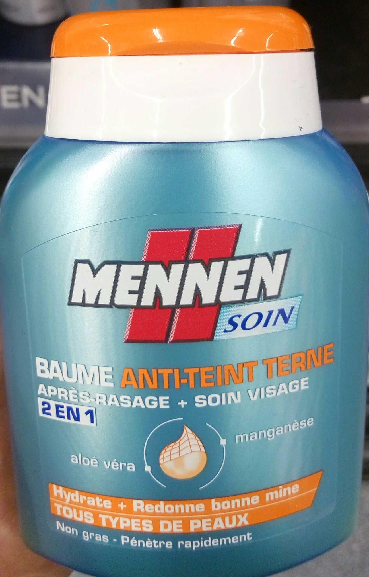 Baume Anti-Teint Terne après rasage soin visage 2 en 1 - Produit - fr