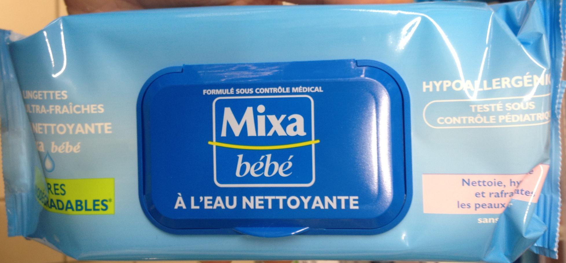 Lingettes ultra-fraîches à l'eau nettoyante - Produit - fr