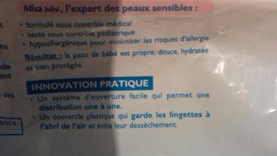 Lingettes ultra-douces au lait de toilette, sans rincer - Produit - fr