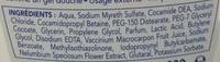Gel Régulateur Active de Toilette Intime Soin et Prévention au Cranberry - Ingredients - fr