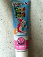 Dents de lait 2-6 ans Goût bubble gum - Product