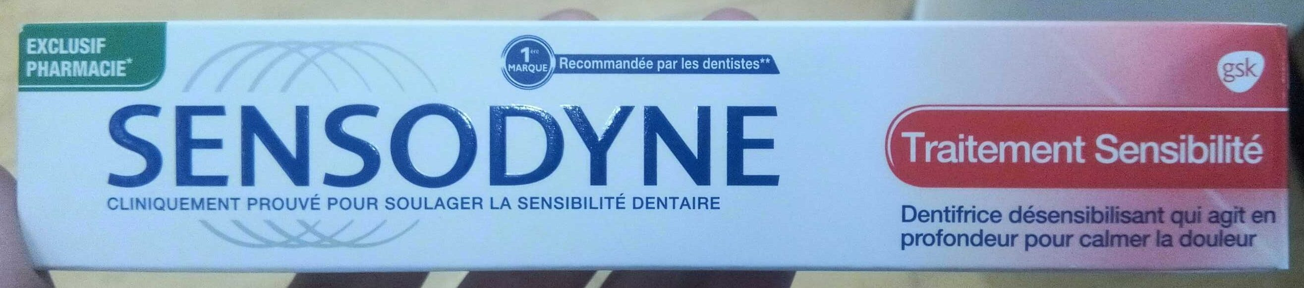 Dentifrice désensibilisant - Product - fr