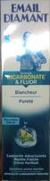 Dentifrice arôme menthe - formule bicarbonate et fluor - Product