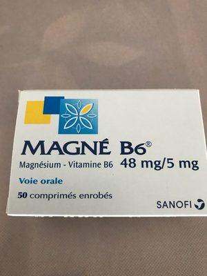 Magné B6, 48/5mg - Produit