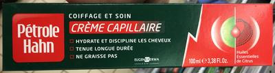 Crème capillaire Coiffage et Soin - Produit - fr