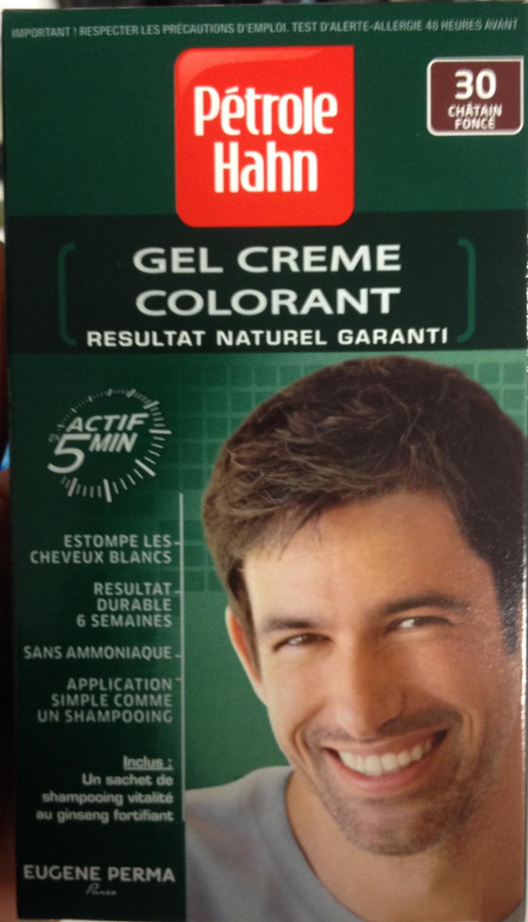 Gel crème colorant n°30 châtain foncé - Produit