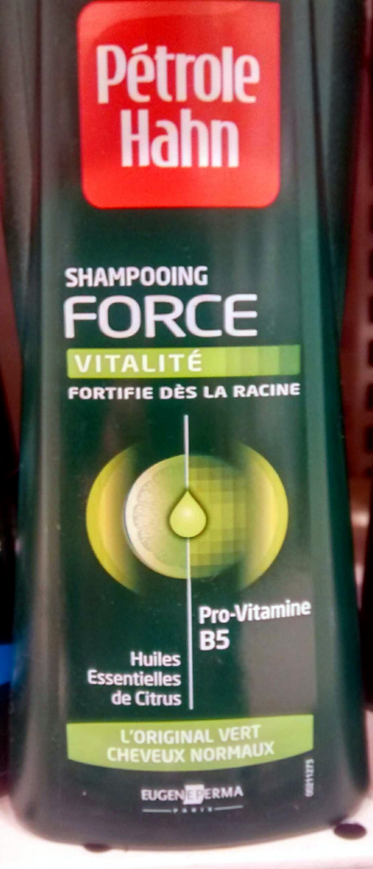 Shampooing force vitalité Huiles essentielles de citrus - Produit
