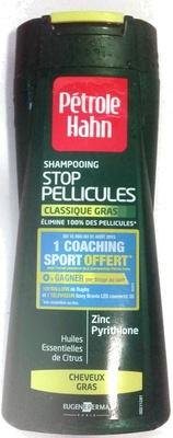 Shampooing Stop Pellicules Classique Gras - Produit