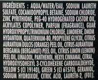 Shampooing anti pelliculaire classique, cheveux normaux - Ingrédients - fr