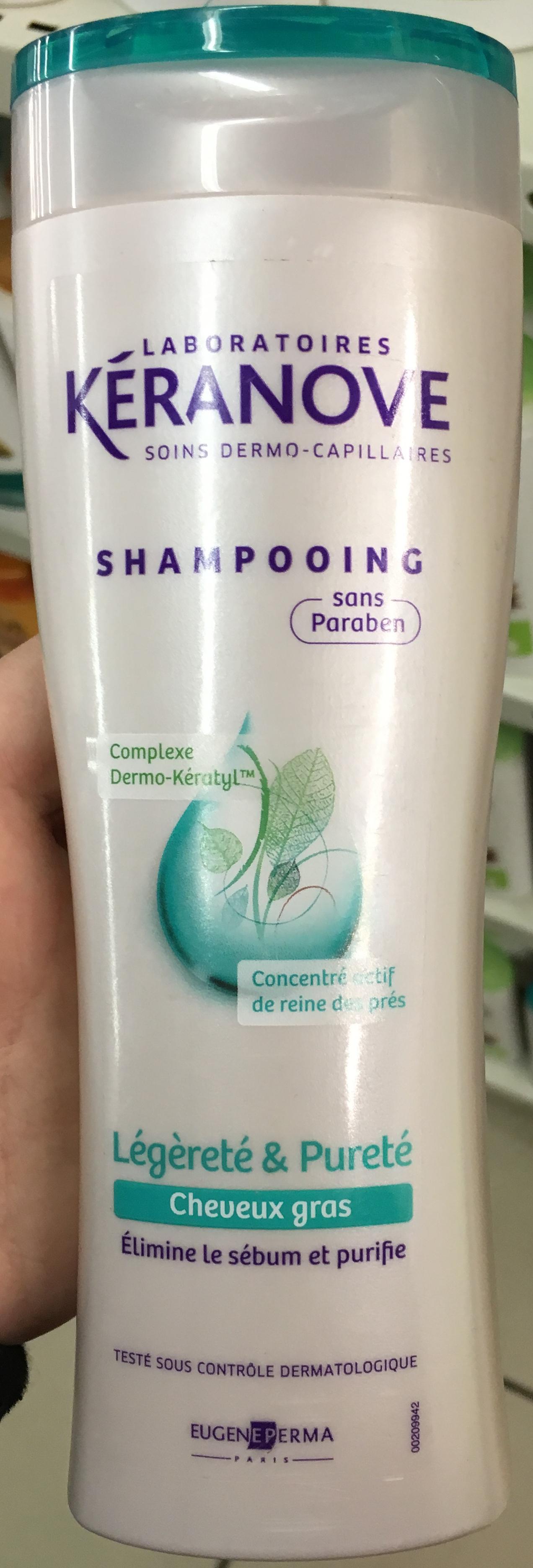Shampooing Légèreté & Pureté cheveux gras - Produit