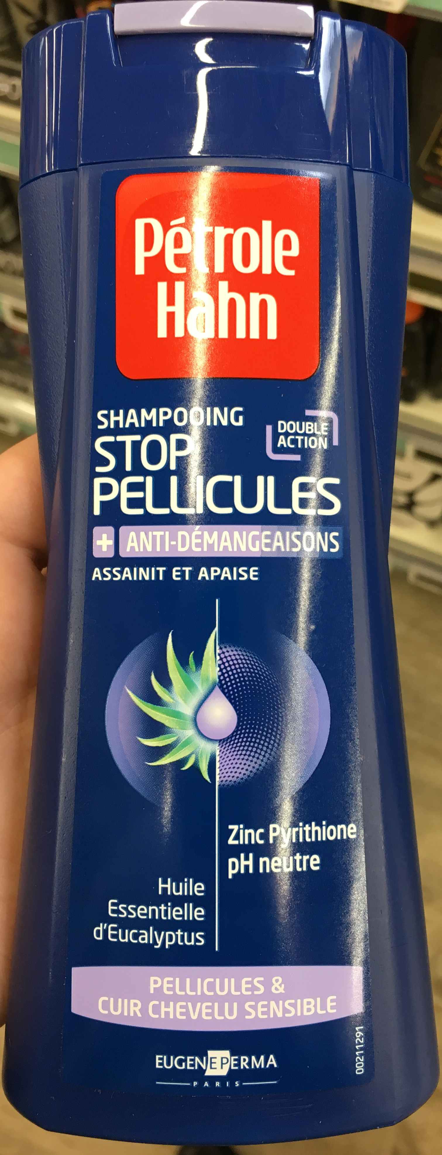 Shampooing Stop Pellicules + anti-démangeaisons - Product - fr