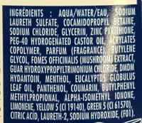 Shampooing Stop Pellicules + anti-démangeaisons - Ingredients - fr