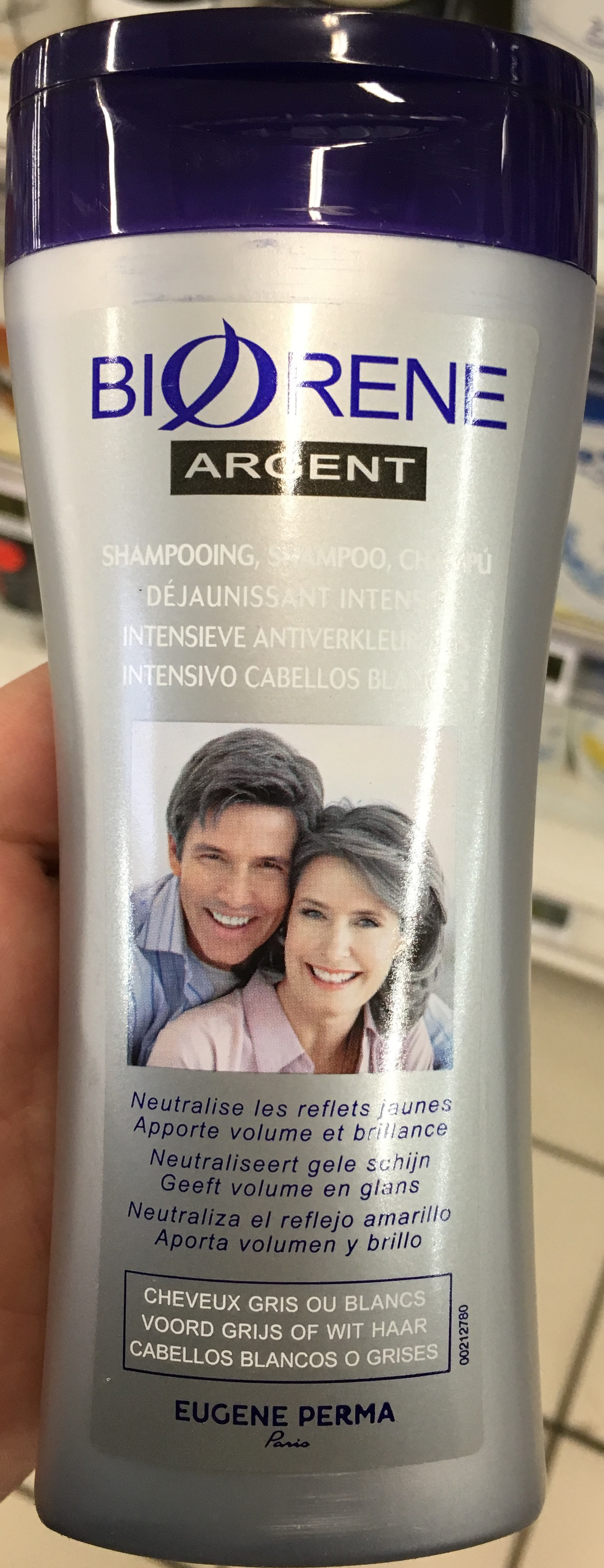 Biorene Argent Shampooing déjaunissant intensif - Product - fr