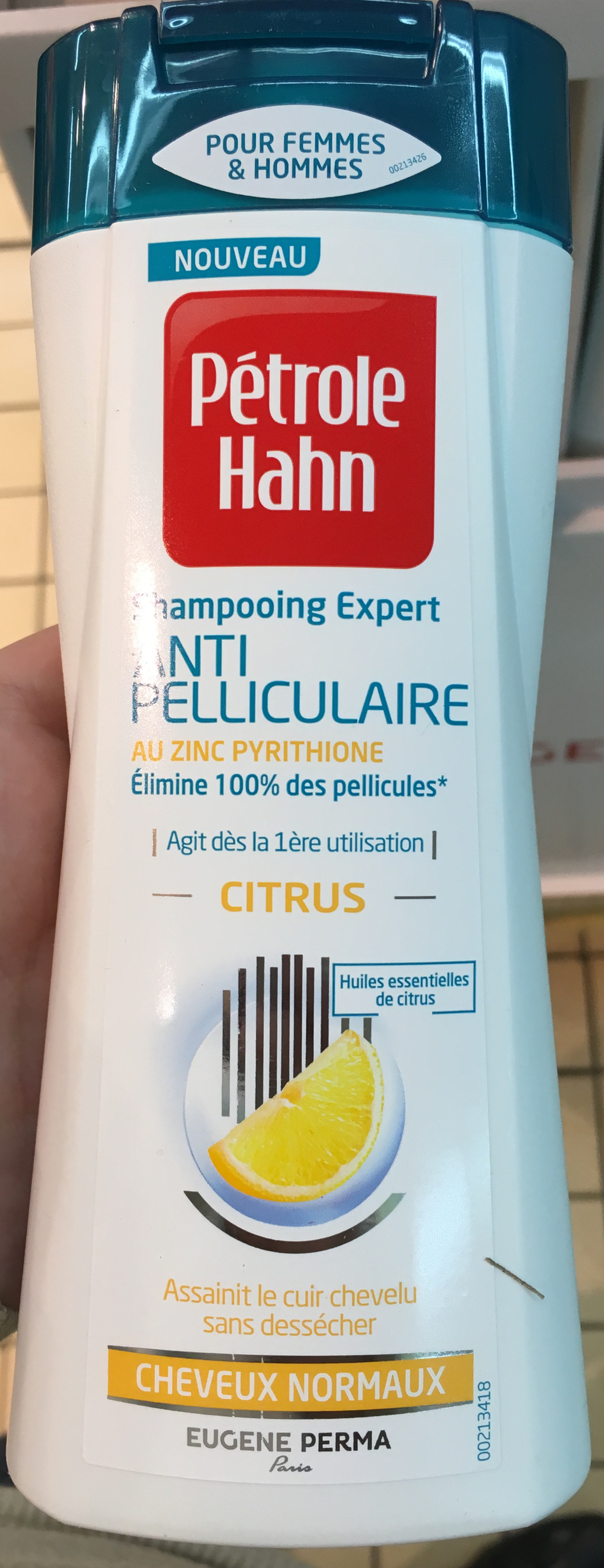 Shampooing expert anti pelliculaire Citrus - Product