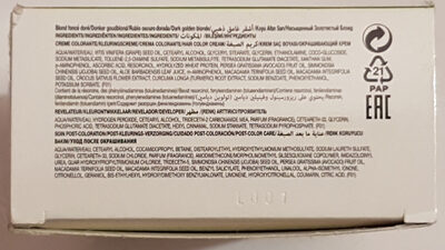 Naturanove - Ingredients - fr