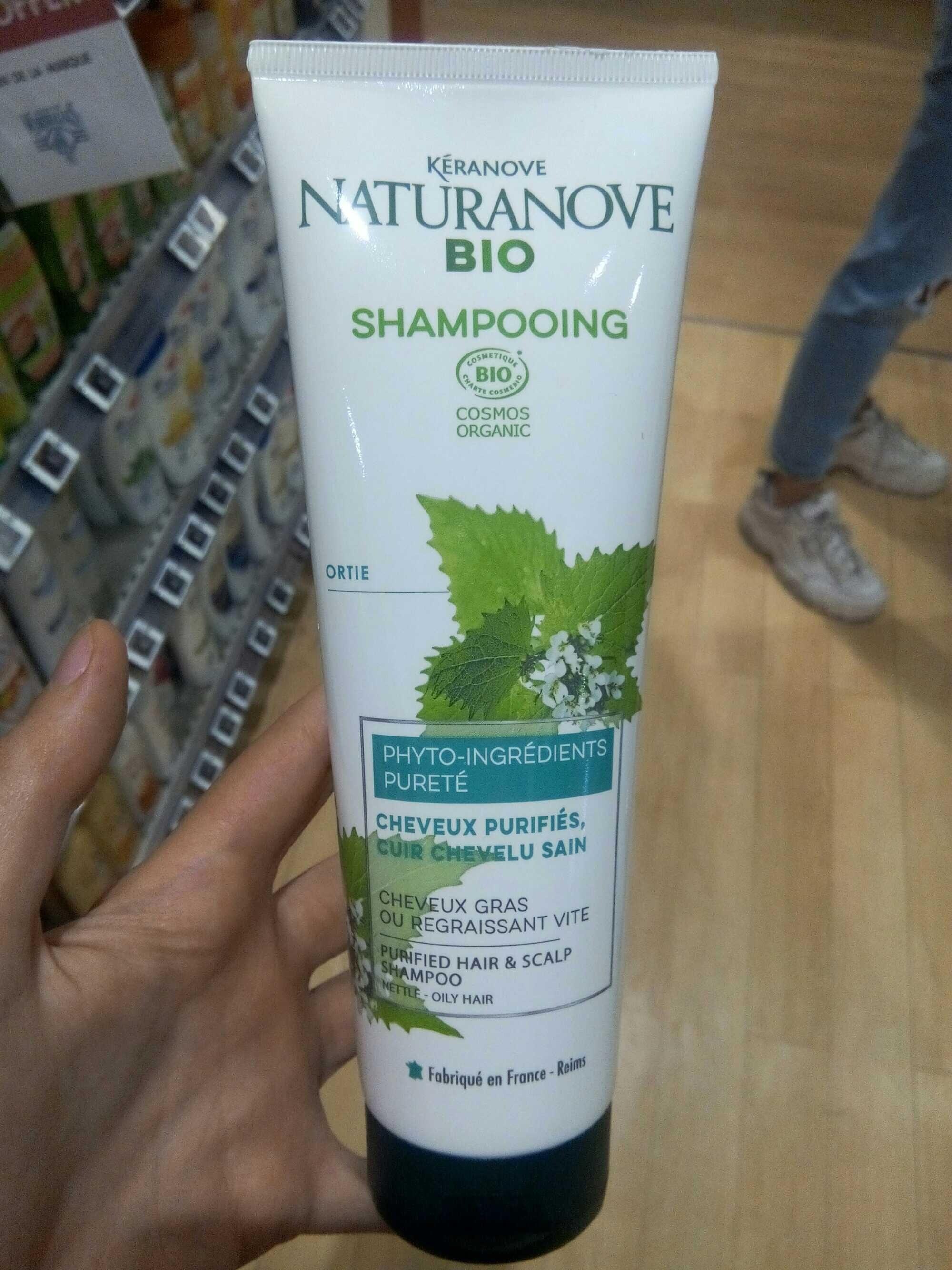 Shampoing cheveux purifiés - Produit