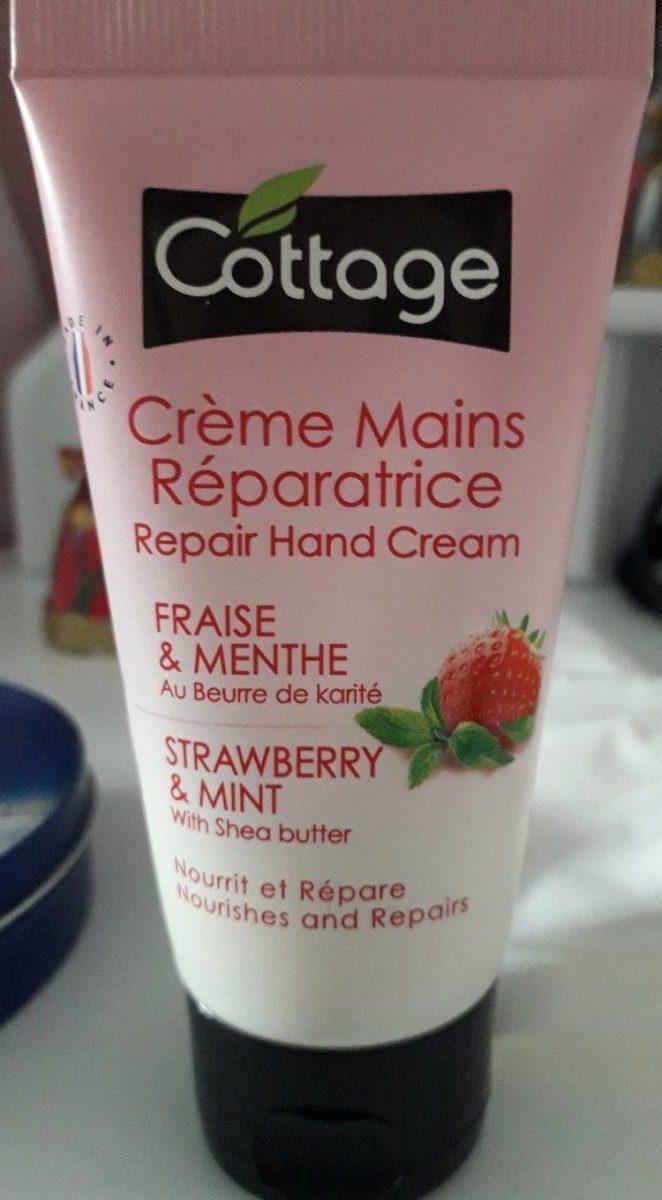 Crème mains réparatrice fraise & menthe - Product - en