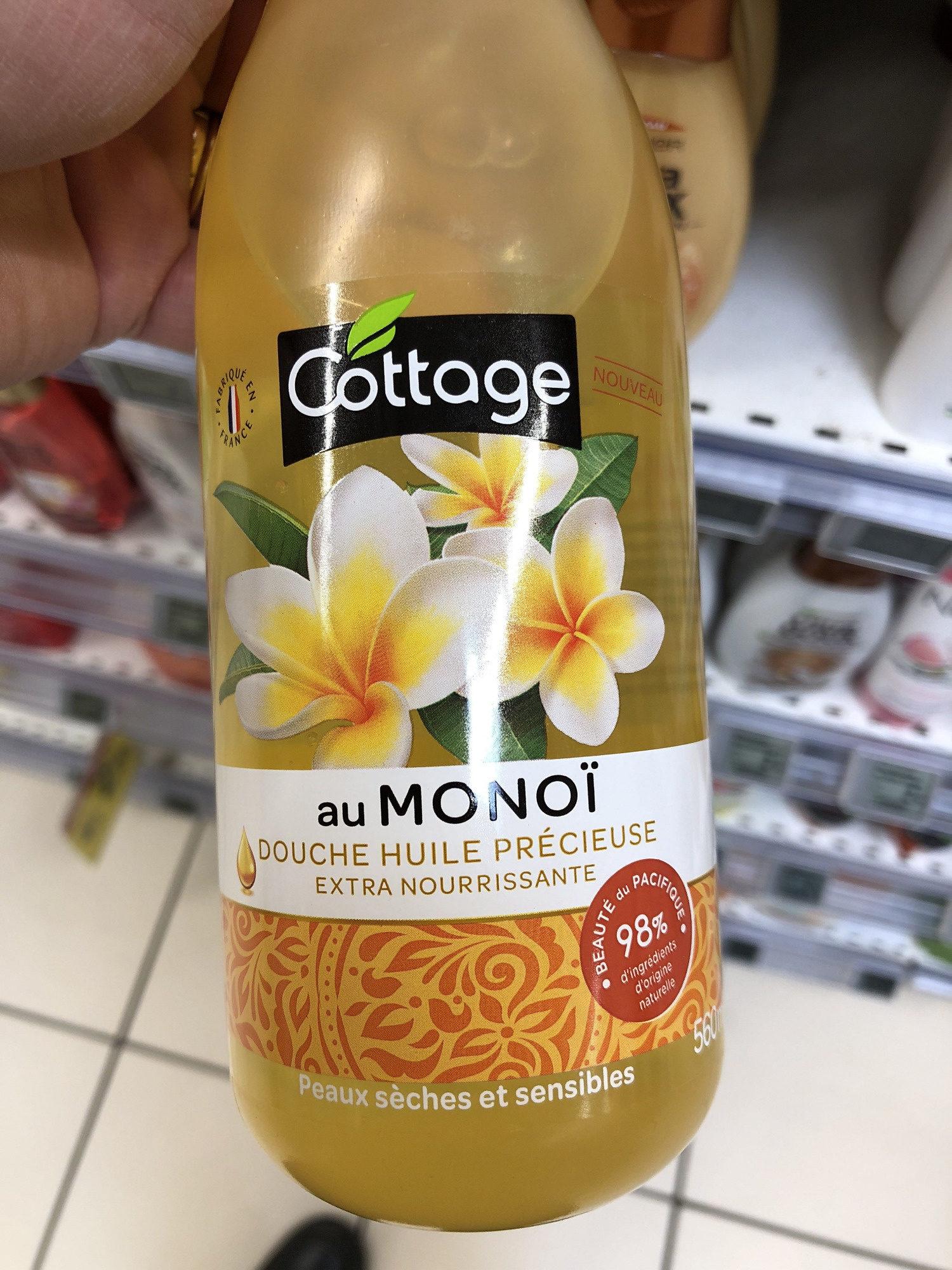 Douche huile précieuse Extra Nourrissante, au Monoï, Peaux sèches et sensibles - Product
