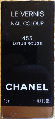 Le Vernis - 455 Lotus Rouge - Product