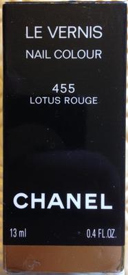 Le Vernis - 455 Lotus Rouge - Produit
