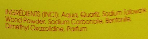 Savon Pat'Arma - Ingredients