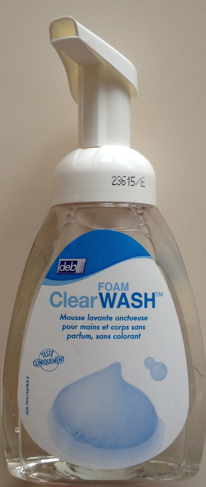 Foam Clear Wash - Product