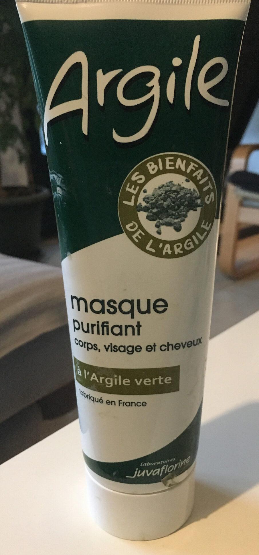 Masque Purifiant Naturel à L'Argile Verte. - Product - fr