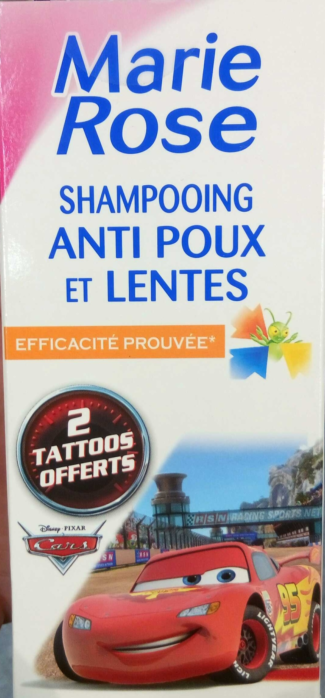 Shampooing anti poux et lentes - Product - en