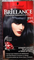 brillance coloration permanente intense 891 noir bleut product - Coloration Noir Bleut