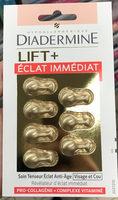 Lift+ Éclat Immédiat Soin Tenseur Éclat Anti-Âge Visage et Cou - Produit