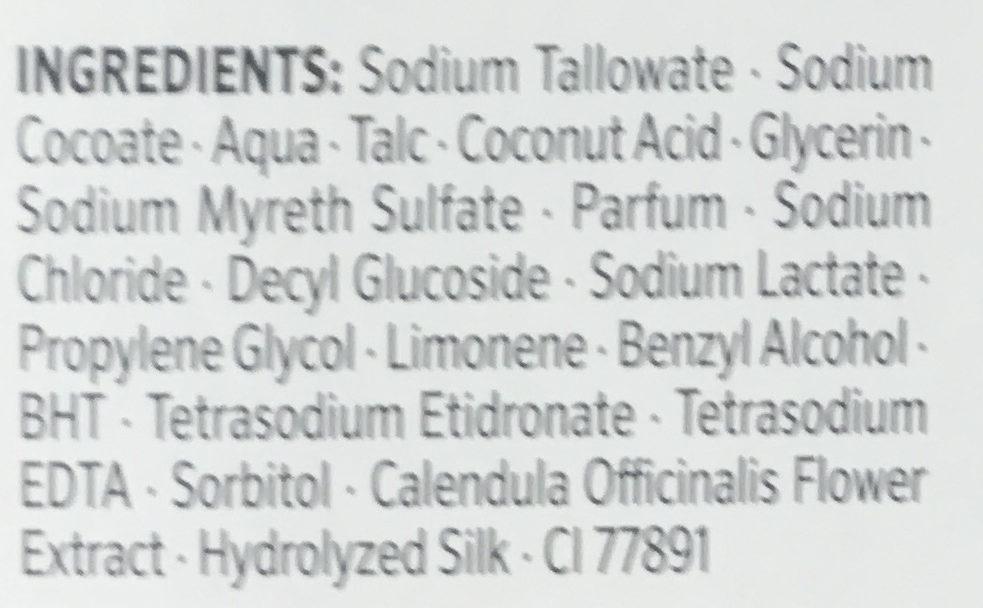 Savon crème surgras - Ingredients - fr