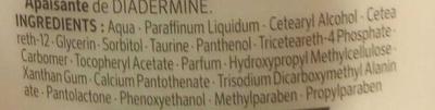 PH5 Lait démaquillant hydratant - Ingrédients