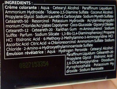 Kit Racines Noir R5 - Ingredients - fr