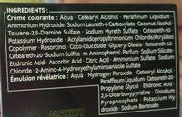 Kit Racines Châtain Foncé R4 - Ingredients
