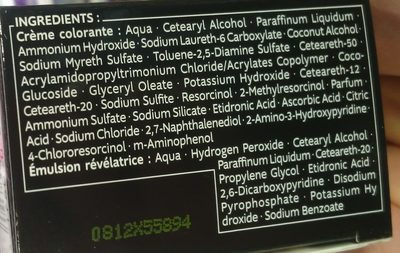 Kit racines - Ingredients