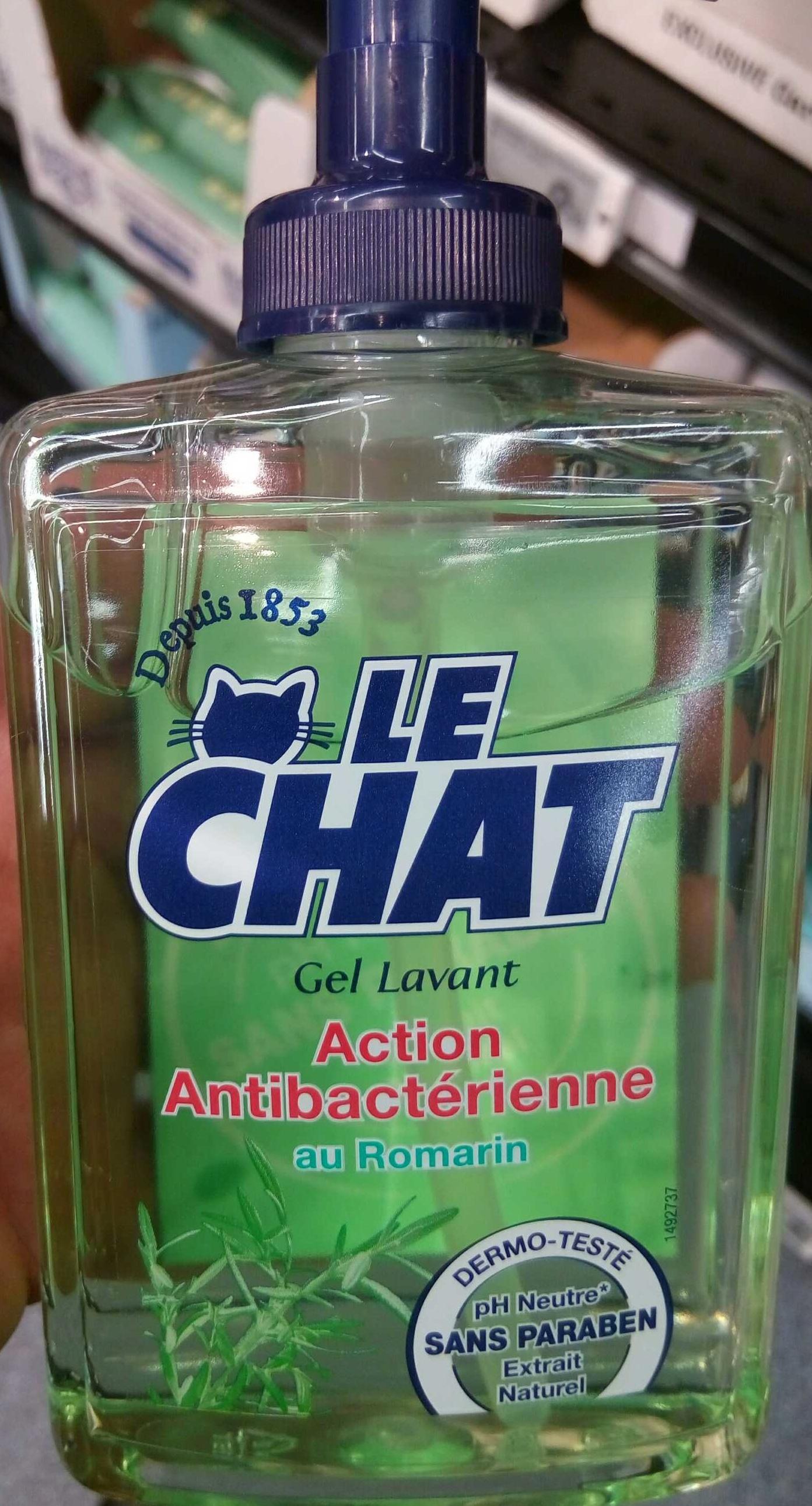 Le Chat Gel lavant Action antibactérienne au Romarin - Produit