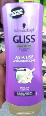Gliss Hair Repair Asia Liss Après-shampooing - Product