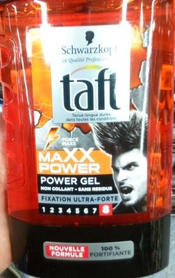 Taft MAXX Power Power Gel 8 - Produit