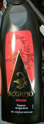 Gel douche parfumé Rouge - Produit