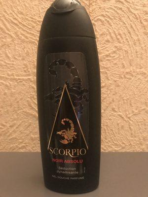 SCORPIO gel douche parfumé NOIR ABSOLU - Product - fr