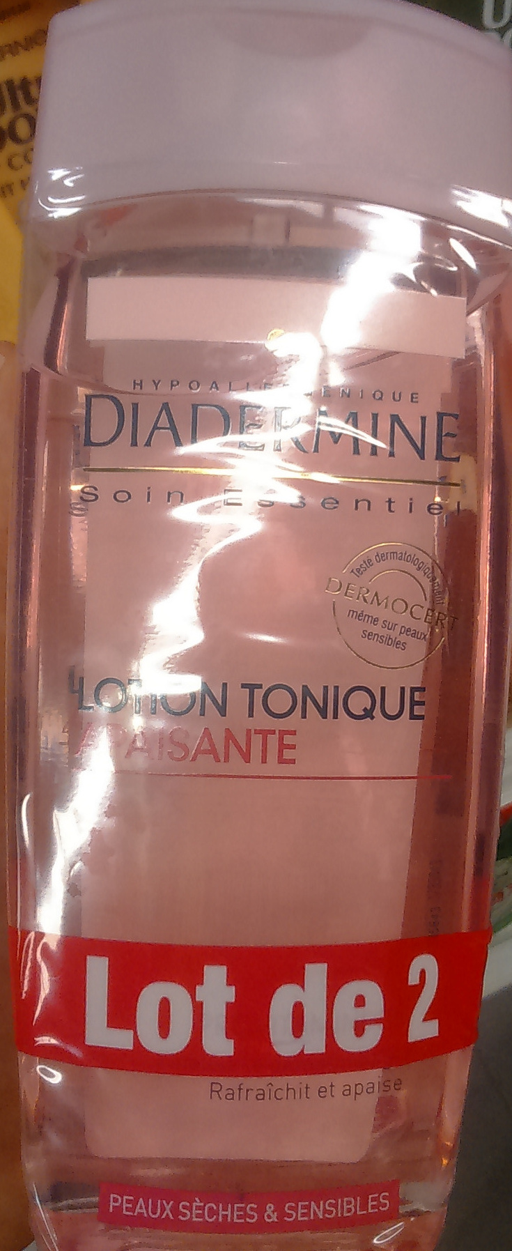 Lotion tonique apaisante - Product