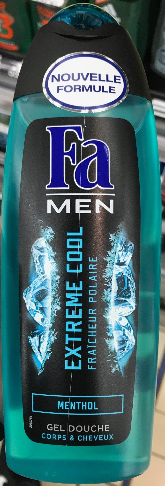 Men Extreme Cool Menthol Gel douche - Product - fr