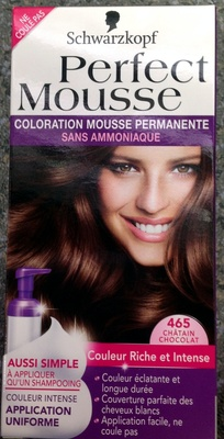Perfect Mousse Châtain Chocolat 465 - Product - fr